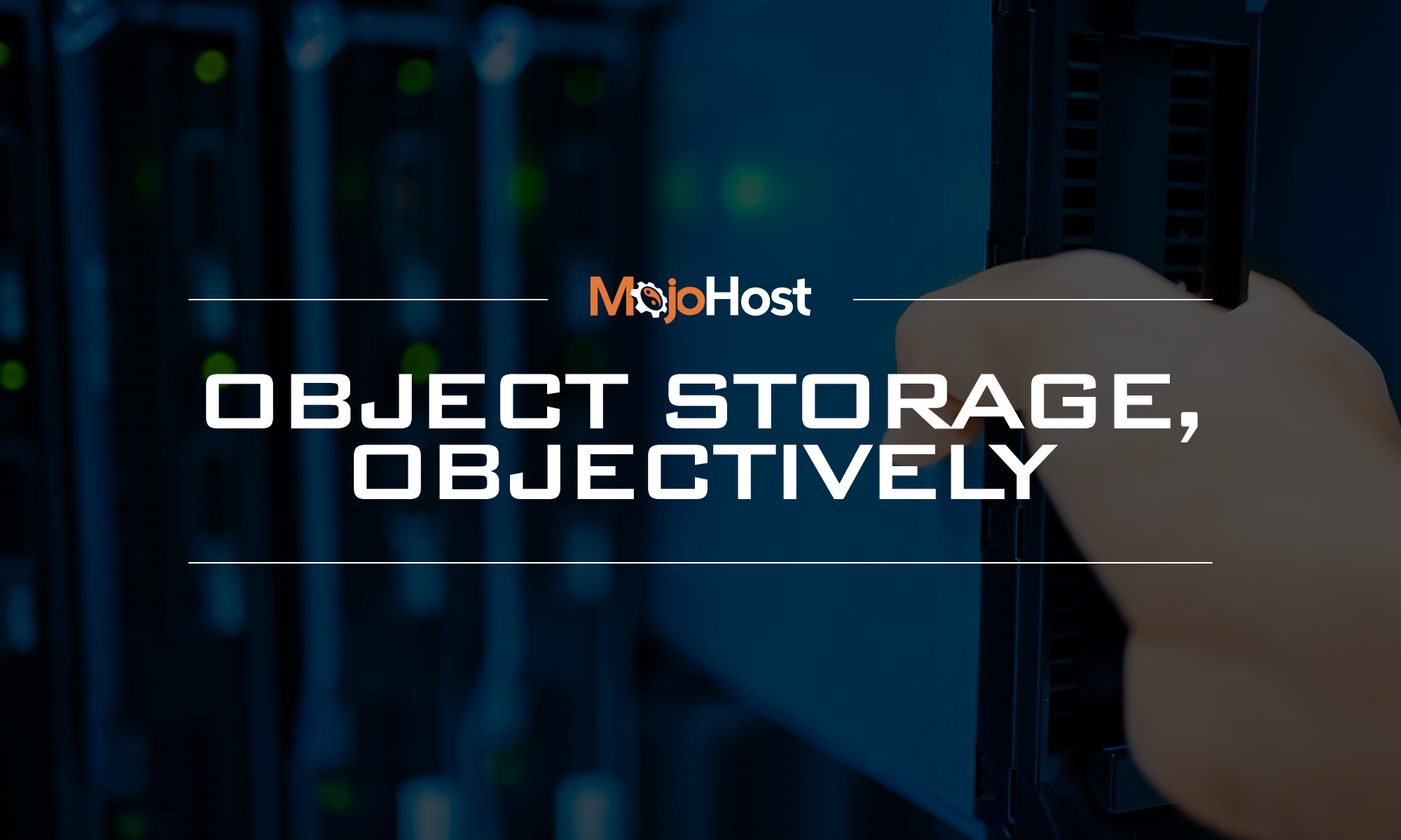 Object Storage, Objectively