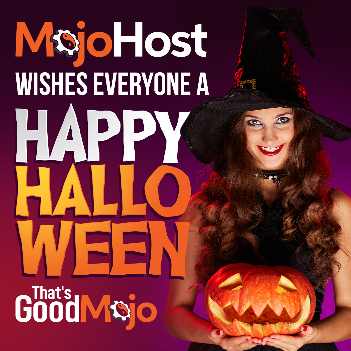 Happy Halloween To All MojoHost Customers, Partners And Friends!