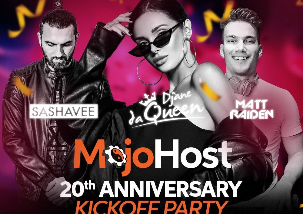 MojoHost 20th Anniversary Party – Video