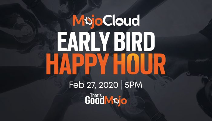 MojoHost Early Bird Happy Hour TES LIS 2020