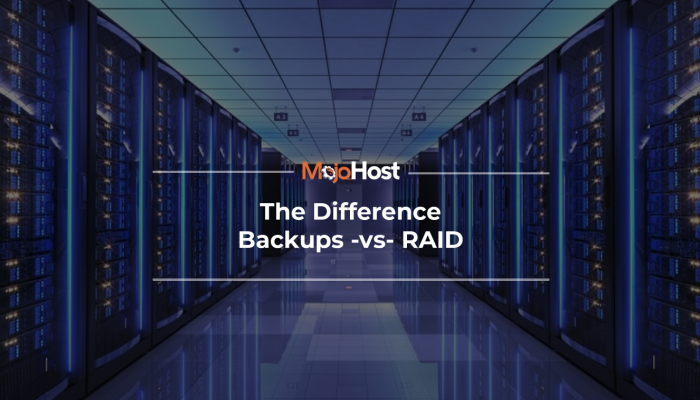 The Difference Backups Vs. RAID