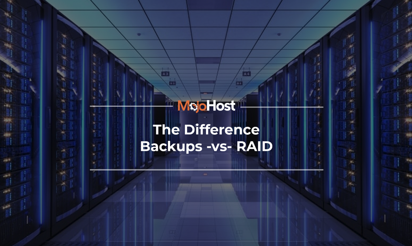 How Is RAID Different From Backups?