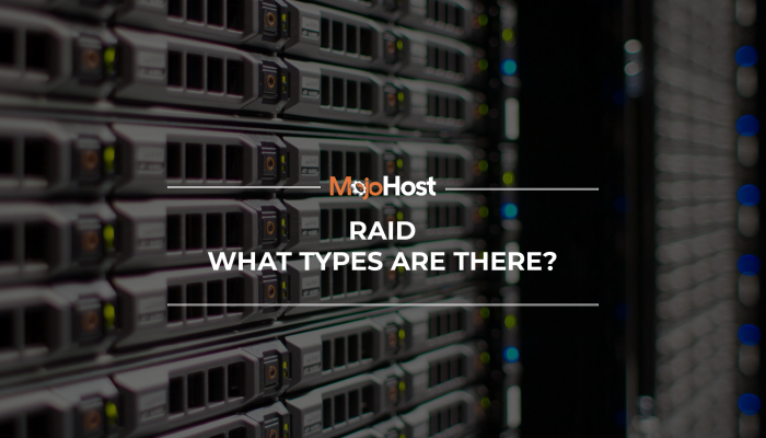 Dedicated Servers Data Redundancy RAID Types