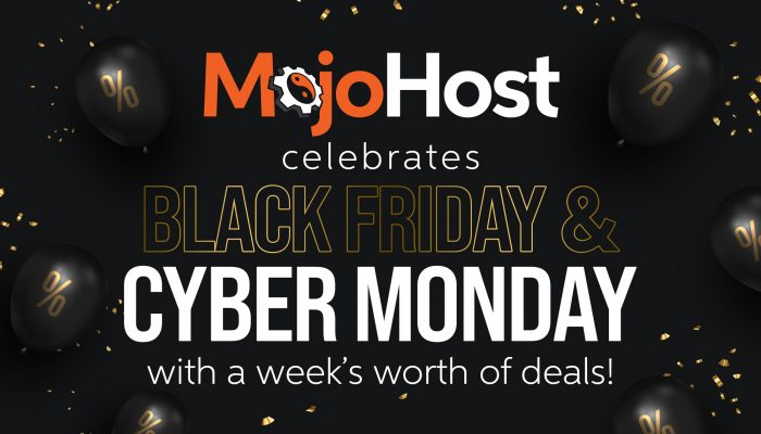 MojoHost Hosting CyberMonday Deal
