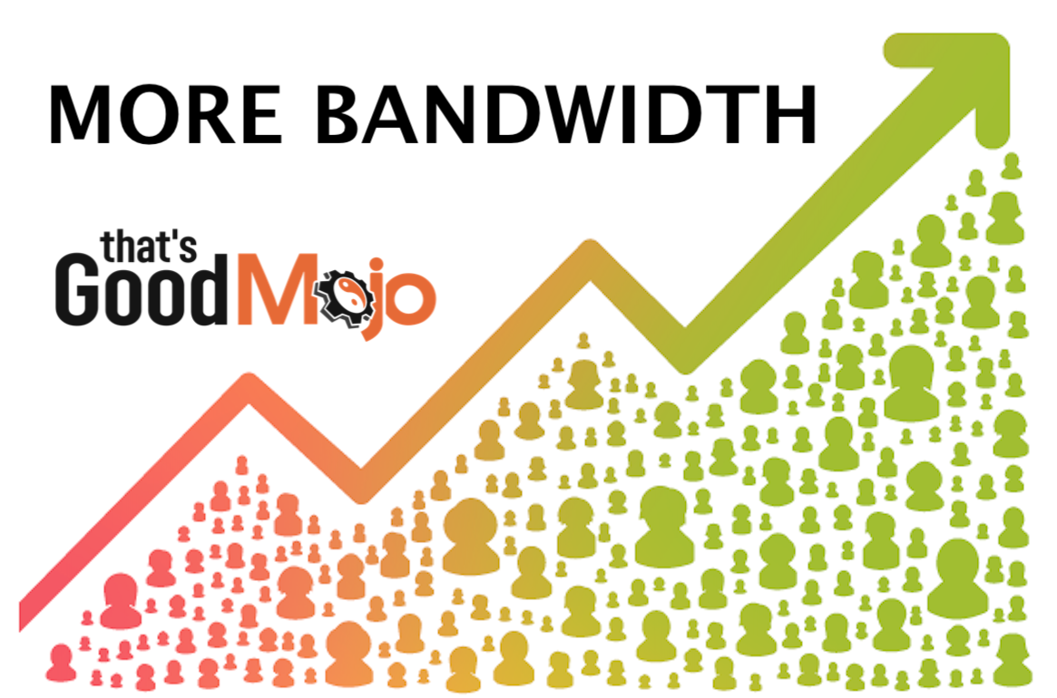 More Bandwidth Thats Good Mojo